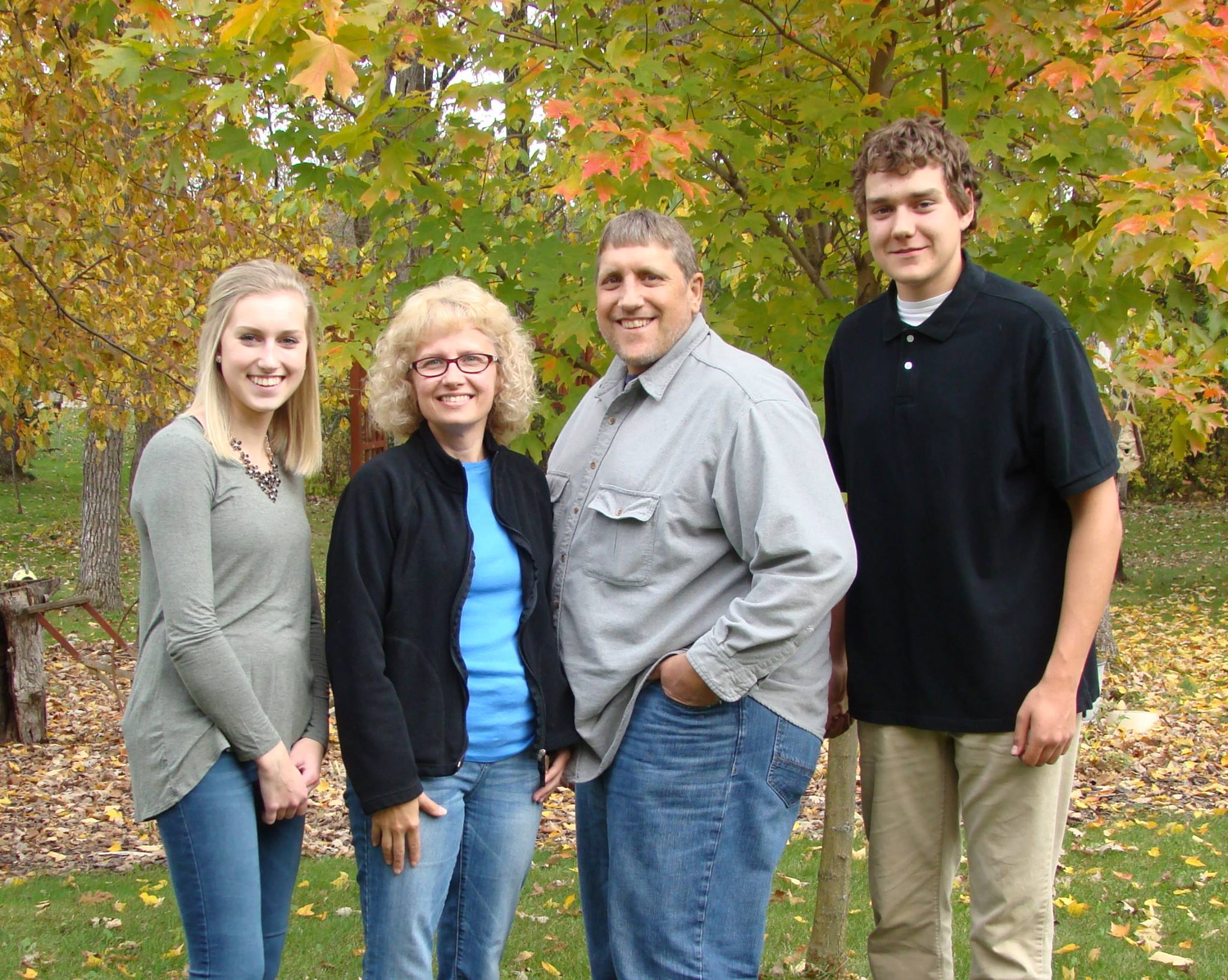 John Bullert Family Picture For Business Cards
